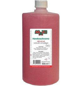 MAXI Seifencreme rosé, Nachfüllung, flüssig, Rundflasche