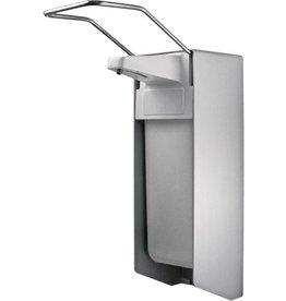 TEMDEX Seifenspender, für Euroflasche 1.000 ml, Aluminium, silber