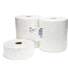 TORK Toilettenpapier Advanced, Tissue, 2lg., Großrolle, 1.800Bl., weiß