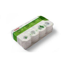 STAPLES Toilettenpapier SUSTAINABLE EARTH™, 2lg., 250 Blatt, naturweiß