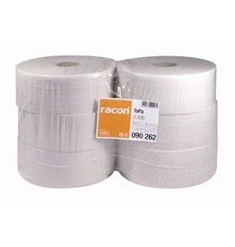 racon Toilettenpapier, 2lg., Großrolle, 1.684 Blatt, 9,7 x 19 cm, naturweiß