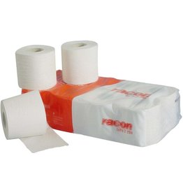 racon Toilettenpapier, 2lg., Rolle, 250 Blatt, 9,8 x 12,5 cm, naturweiß