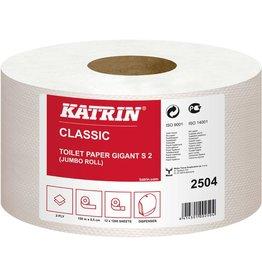 KATRIN Toilettenpapier, Classic GIGANT S2, 2lagig, auf Rolle, 9,5 cm x 150 m