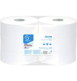 Papernet Toilettenpapier, Special Maxi Jumbo, 2lagig, auf Rolle, weiß