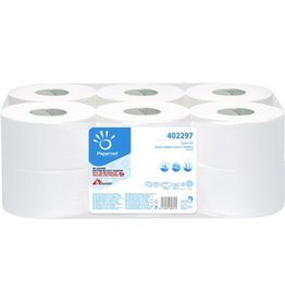 Papernet Toilettenpapier, Special Mini Jumbo, 2lagig, auf Rolle, weiß