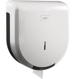 STAPLES Toilettenpapierspender, ABS, abschließbar, für: 1 Großrolle, weiß