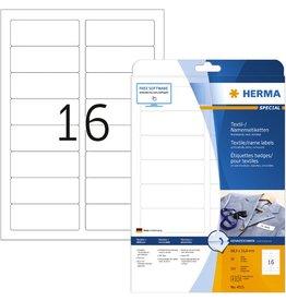 HERMA Namensetikett, FL/FK, sk, 88,9 x 33,8 mm, weiß