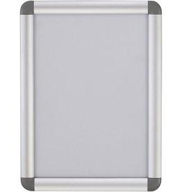 Bi-Office Plakatrahmen, für Innenbereich, A0, silber