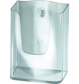 sigel Prospekthalter, 1 Fach DL, 125 x 55 x 155 mm, glasklar