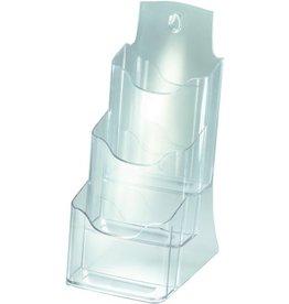 sigel Prospekthalter, f.Tisch, 3Fä.DL, 130x150x290mm