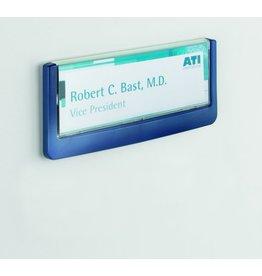 DURABLE Türschild CLICK SIGN, Schild B x H: 149 x 52,5 mm, dunkelblau