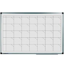 Legamaster Tafelkalender, PREMIUM, 1W/1S - Sp., 60x90cm, Tagesfeld: 11,1x2cm