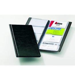 DURABLE Visitenkartenmappe VISIFIX®, 11,5x25,3cm, für: 96 Karten, schwarz