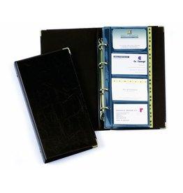 DURABLE Visitenkartenringbuch VISIFIX®, 14,5x25,5cm, für: 200 K., schwarz