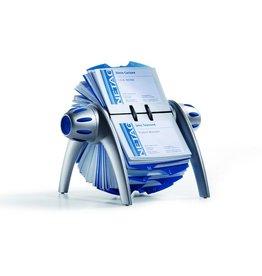 DURABLE Visitenkartenrollkartei VISIFIX® FLIP VEGAS, für: 400 Karten, silber