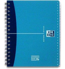 Oxford Adressbuch OFFICE, A5, 4farb. sort.