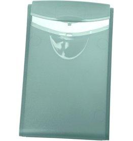HAN Visitenkartenbox COGNITO, PP, 54x4x90mm, für: 20 Karten, grau, transl.
