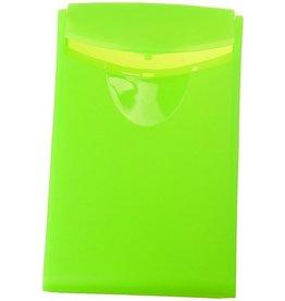 HAN Visitenkartenbox COGNITO, PP, 54x4x90mm, für: 20 Karten, grün, transl.
