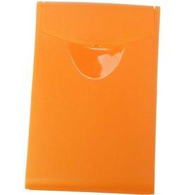 HAN Visitenkartenbox COGNITO, PP, 54x4x90mm, für: 20 Karten, or, transl.
