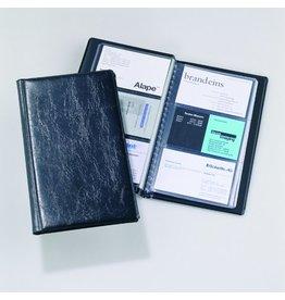 DURABLE Visitenkartenmappe VISIFIX®, 11,5x19,5cm, für: 72 Karten, schwarz