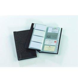 DURABLE Visitenkartenmappe VISIFIX®, 14,5x25,5cm, für: 200 K., braun