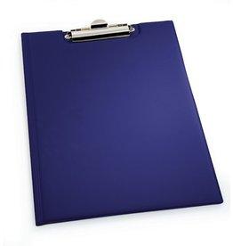 DURABLE Klemmblockmappe, mit Deckel, Klemme kurze Seite, A4, blau