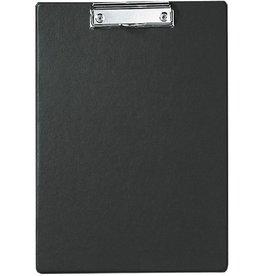 MAUL Schreibplatte, folienkaschiert, Klemme kurze Seite, A4, schwarz
