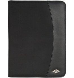 WEDO Konferenzmappe Elegance, Kunstleder/Nylon, A4, 25 x 33 cm, schwarz
