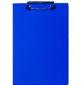 VELOFLEX Schreibplatte, PVC, Klemme kurze S., A4, 23x34cm, blau