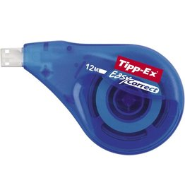 Tipp-Ex Korrekturroller Easy Correct, Einweg, 4,2 mm x 12 m, weiß, transparent