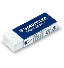 STAEDTLER Radierer Mars® Plastic, PP, für: Blei-/OHP-Stifte, 65x23x13mm, weiß
