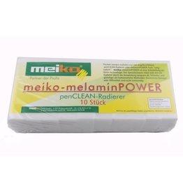 Meiko Fleckenradierer, Schaum aus Melaminharz, 120 x 65 x 120 mm, weiß