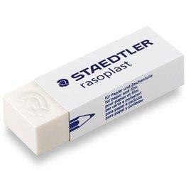 STAEDTLER Radierer rasoplast, Kunststoff, 65 x 23 x 13 mm, weiß