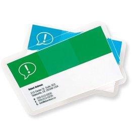 GBC Laminiertasche CardPouch, für: Visitenkarten, 90 x 60 mm, 0,125 mm