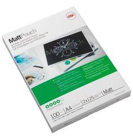 GBC Laminiertasche Matt™ Pouch, A4, 216x303mm, 0,125mm