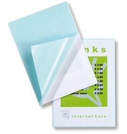 GBC Laminiertasche Peel'nStick™, sk, A4, 216 x 303 mm, 0,125 mm, glänzend