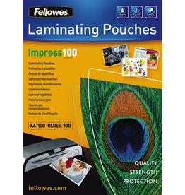 Fellowes Laminiertasche, A4, 210 x 297 mm, 0,1 mm