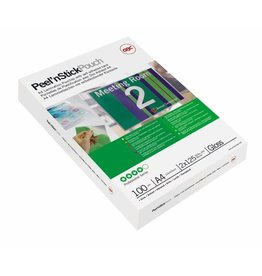 GBC Laminiertasche Peel'nStick™, sk, A3, 426 x 303 mm, 0,075 mm, glänzend