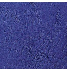 GBC Umschlagmaterial LeatherGrain™, Karton, 250 g/m², A4, royalblau