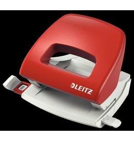 LEITZ Locher Topstyle®, mit Anschlagschiene, 16 Blatt, 1,6 mm, rot