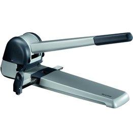 LEITZ Locher, mechanisch, mit Anschlagschiene, 250 Blatt, 25 mm, silber
