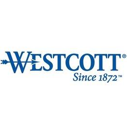 WESTCOTT Cutter, Kunststoff, mit Metallführung, 18 mm, silber/grau