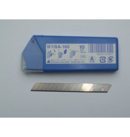 NT Ersatzklinge, A160/BA160, Kst.box, 9mm