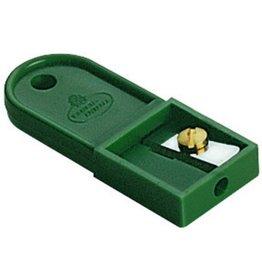 FABER-CASTELL Minenspitzer TK®, Kst., 1fach, Stift-Ø: 2mm, grün