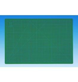 WEDO Schneideunterlage, CM45, mit Hilfslinien, 45 x 30 cm, 3 mm, grün