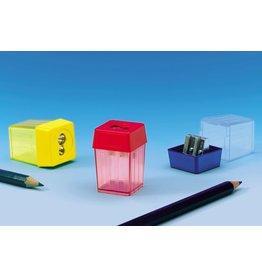 KUM Spitzer, 228, mit Behälter, eckig, 2fach, Stift-Ø: 8 / 12 mm, sortiert