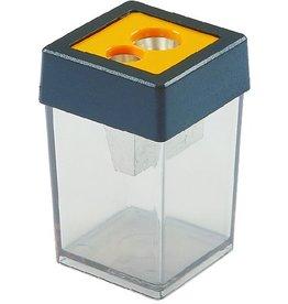 DAHLE Spitzer, mit Behälter, 2fach, Stift-Ø: 8 / 10,5 mm, schwarz/gelb