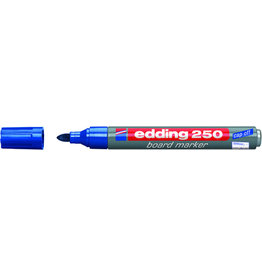 edding Boardmarker 250, nachfüllbar, Rundspitze, 1,5-3 mm, Schreibf.: blau