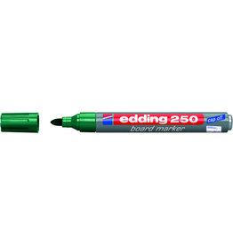 edding Boardmarker 250, nachfüllbar, Rundspitze, 1,5-3 mm, Schreibf.: grün