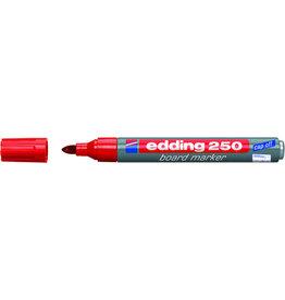 edding Boardmarker 250, nachfüllbar, Rundspitze, 1,5-3 mm, Schreibf.: rot